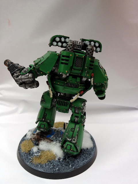 Salamanders Contemptor - Rear View