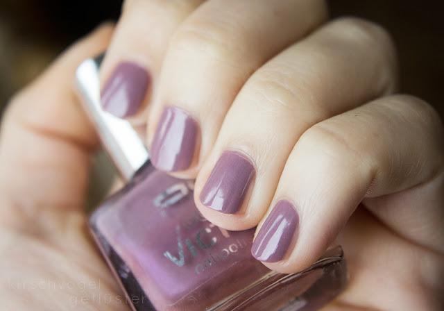 p2 gracious nagellack nail polish mauve