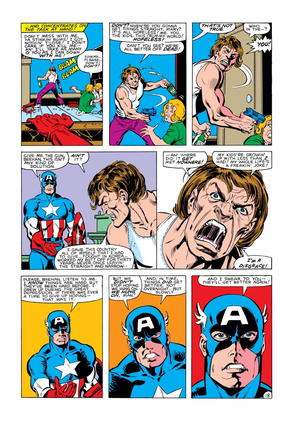 Captain America (1968) Issue #284 #200 - English 19
