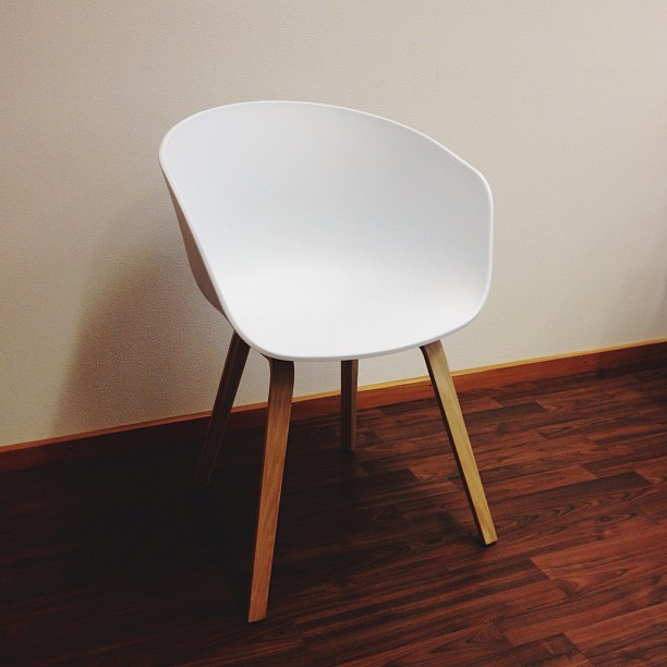 Fashion bits and bobs for Hay about a stool replica