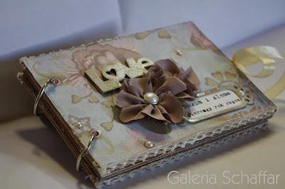 almum shabby chic retro mini scrapbooking pierwsza rocznica galeria schaffar pomysł na prezent