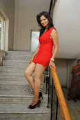 Aswini photo shoot in Red-thumbnail-7