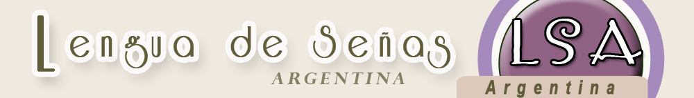LSA - Lengua de Seas Argentina  *.*-._