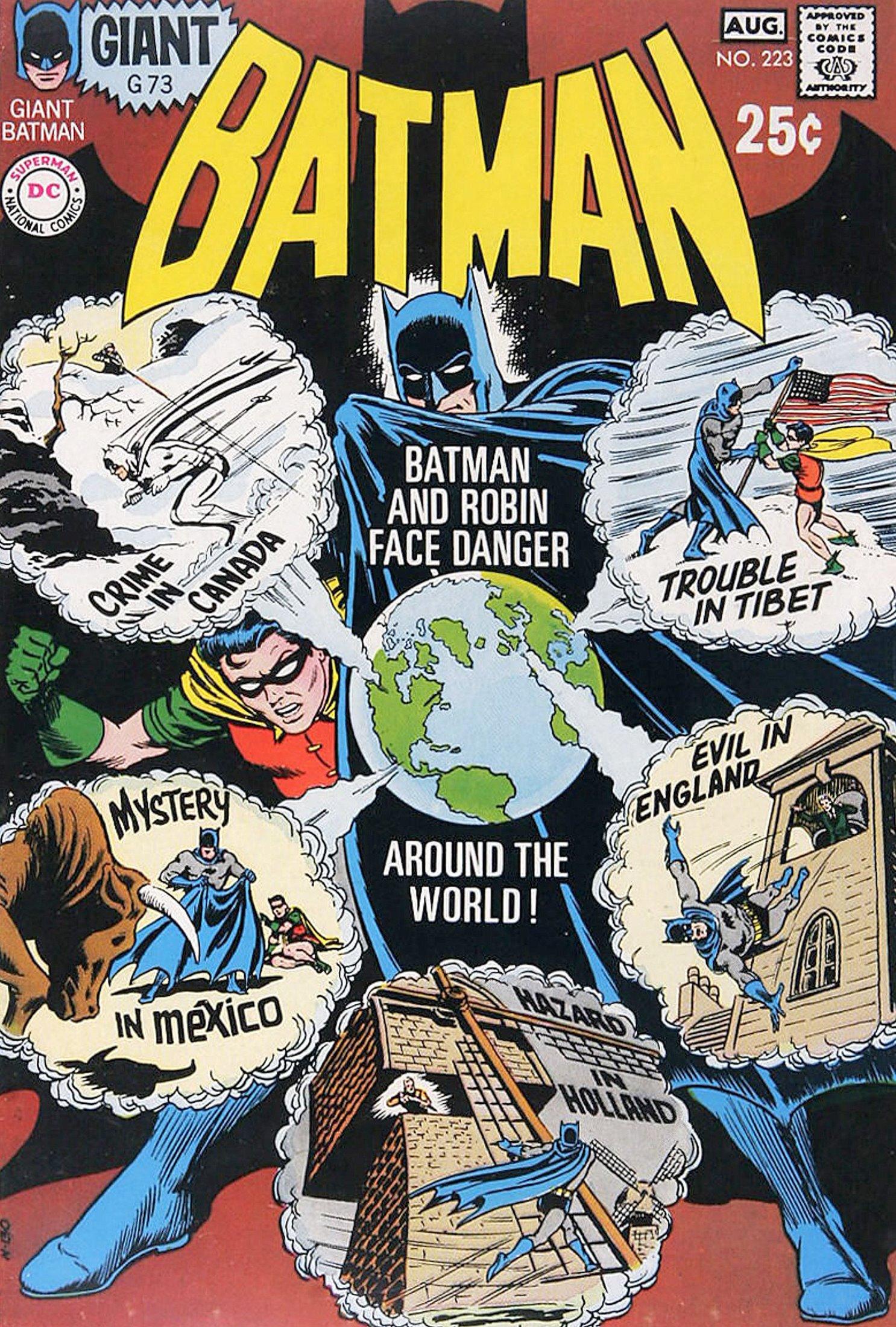 Batman (1940) 223 Page 1