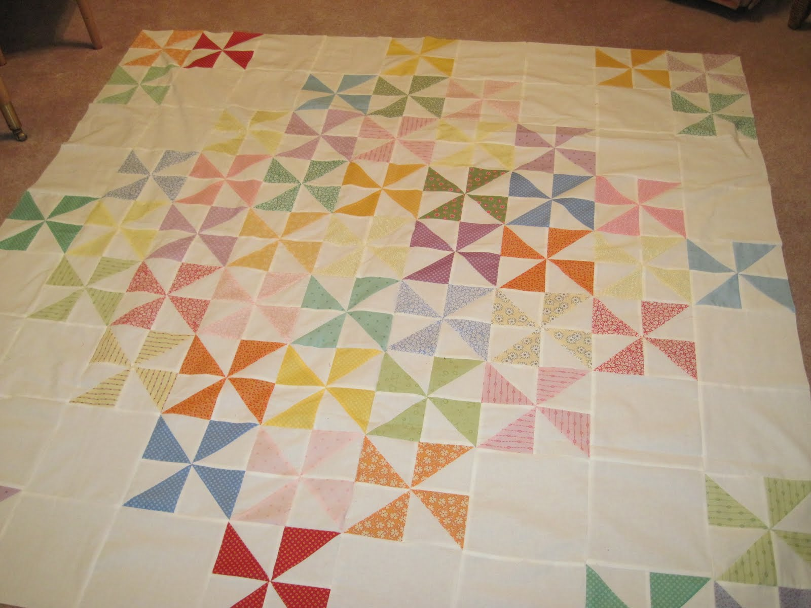 how to make a quilt wider