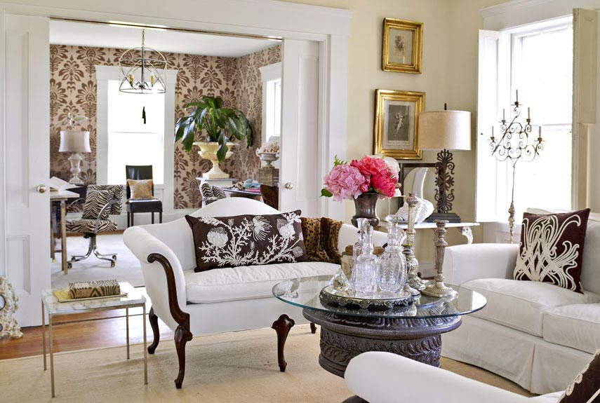 Mix and chic beautiful living rooms - Beautiful rooms images ...