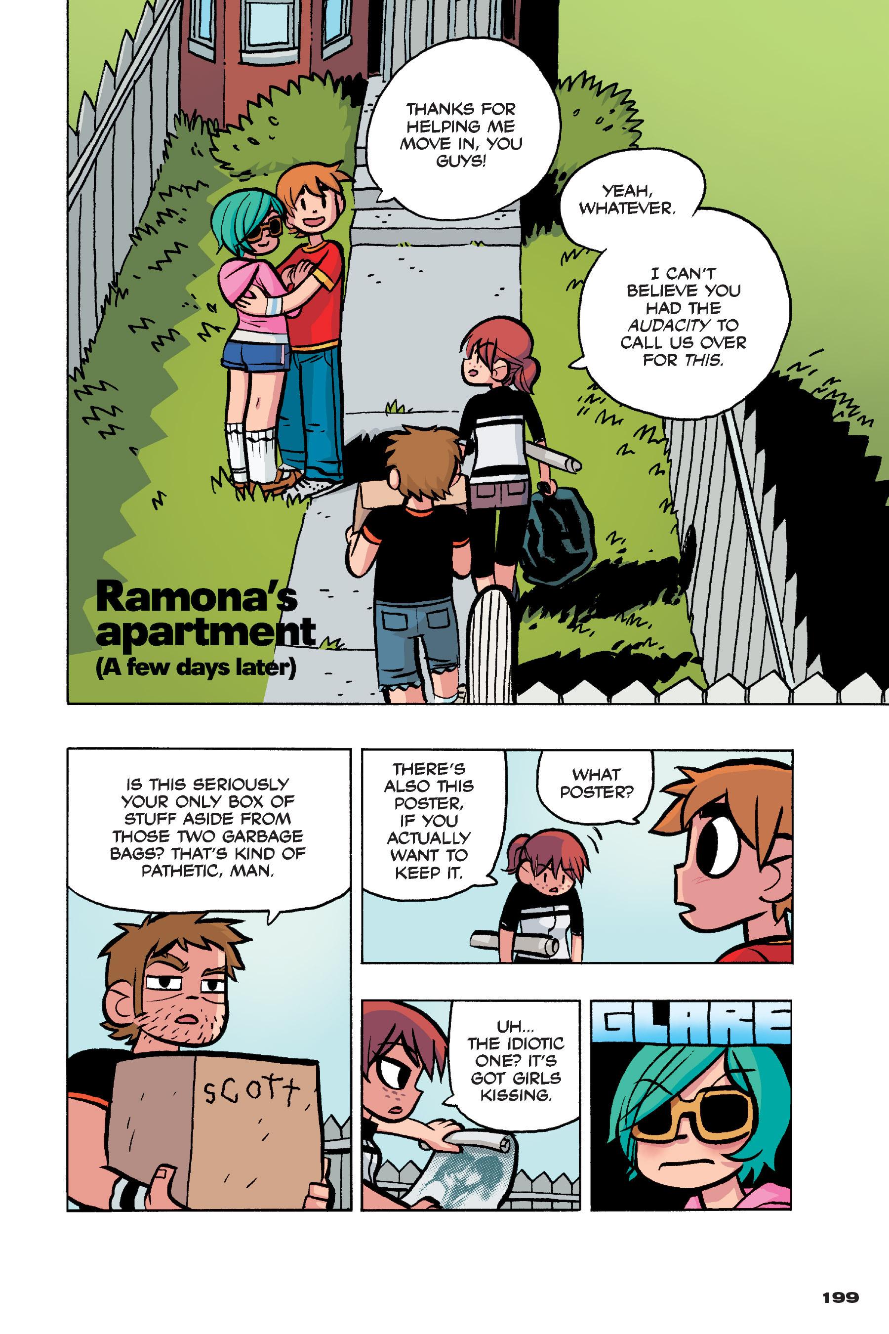 Read online Scott Pilgrim comic -  Issue #4 - 195