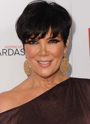 Kris Jenner Dangling Sphere Earrings