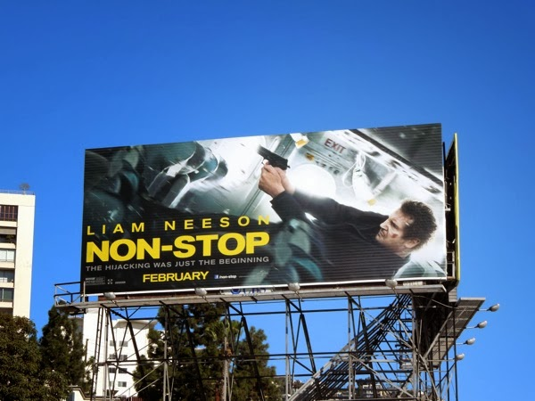 Non-Stop movie billboard