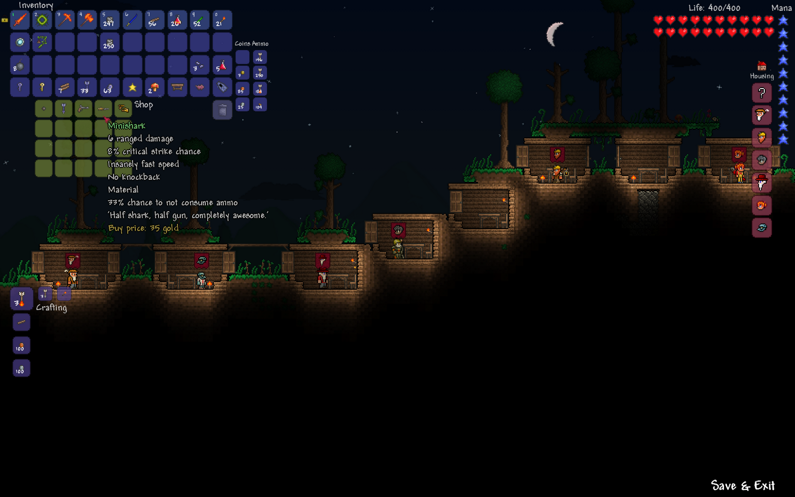 Months behind reviews terraria