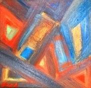 P4 óleo sobre tela 15x15cm