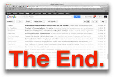 The Google Reader Apocalypse is Upon Us. Here's How to Migrate.