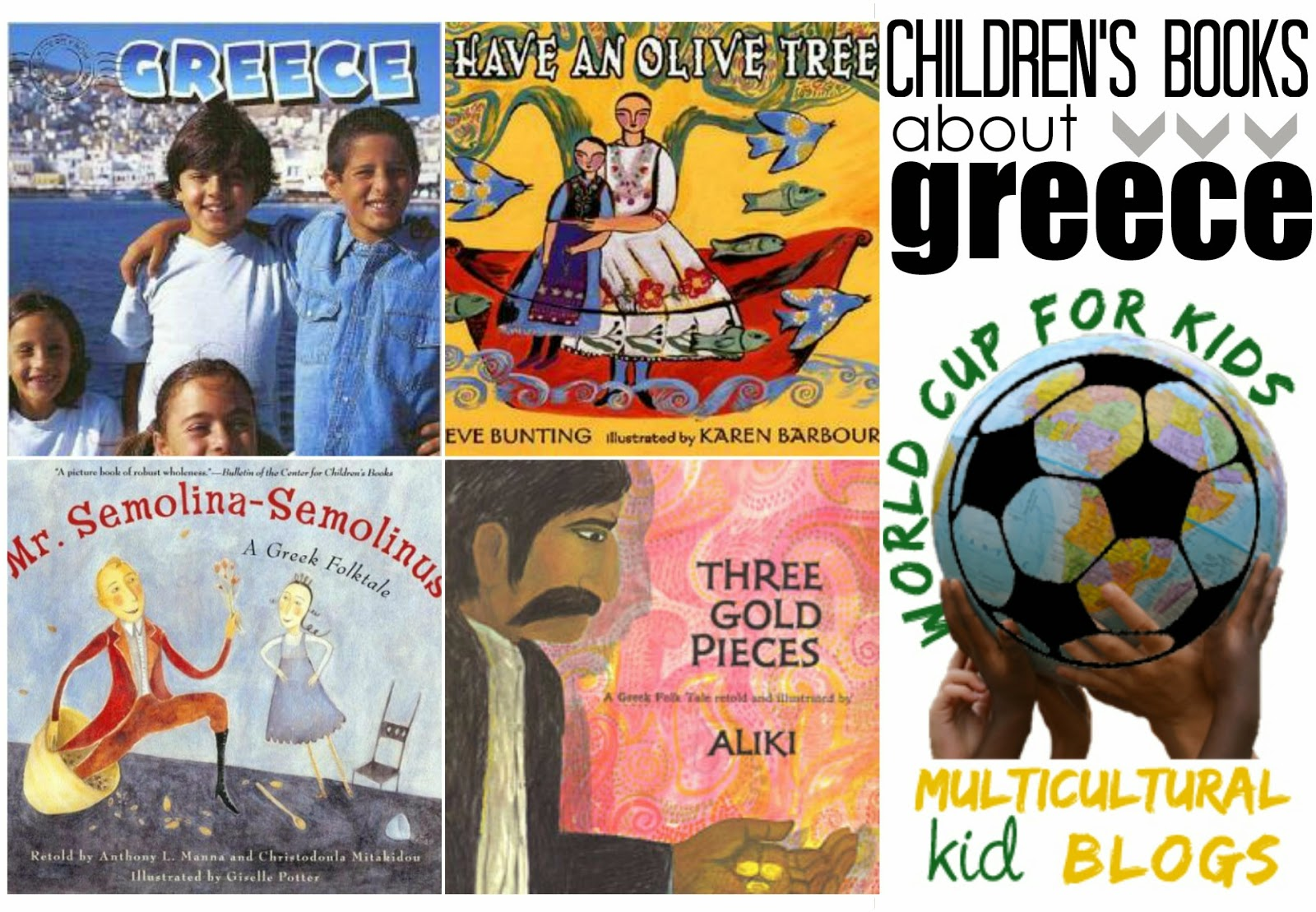 Marie's Pastiche: Children's Books about Greece   World Cup for Kids Project