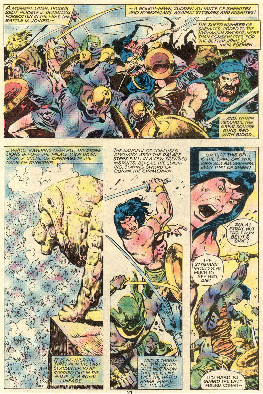 Conan the Barbarian (1970) Issue #93 #105 - English 12