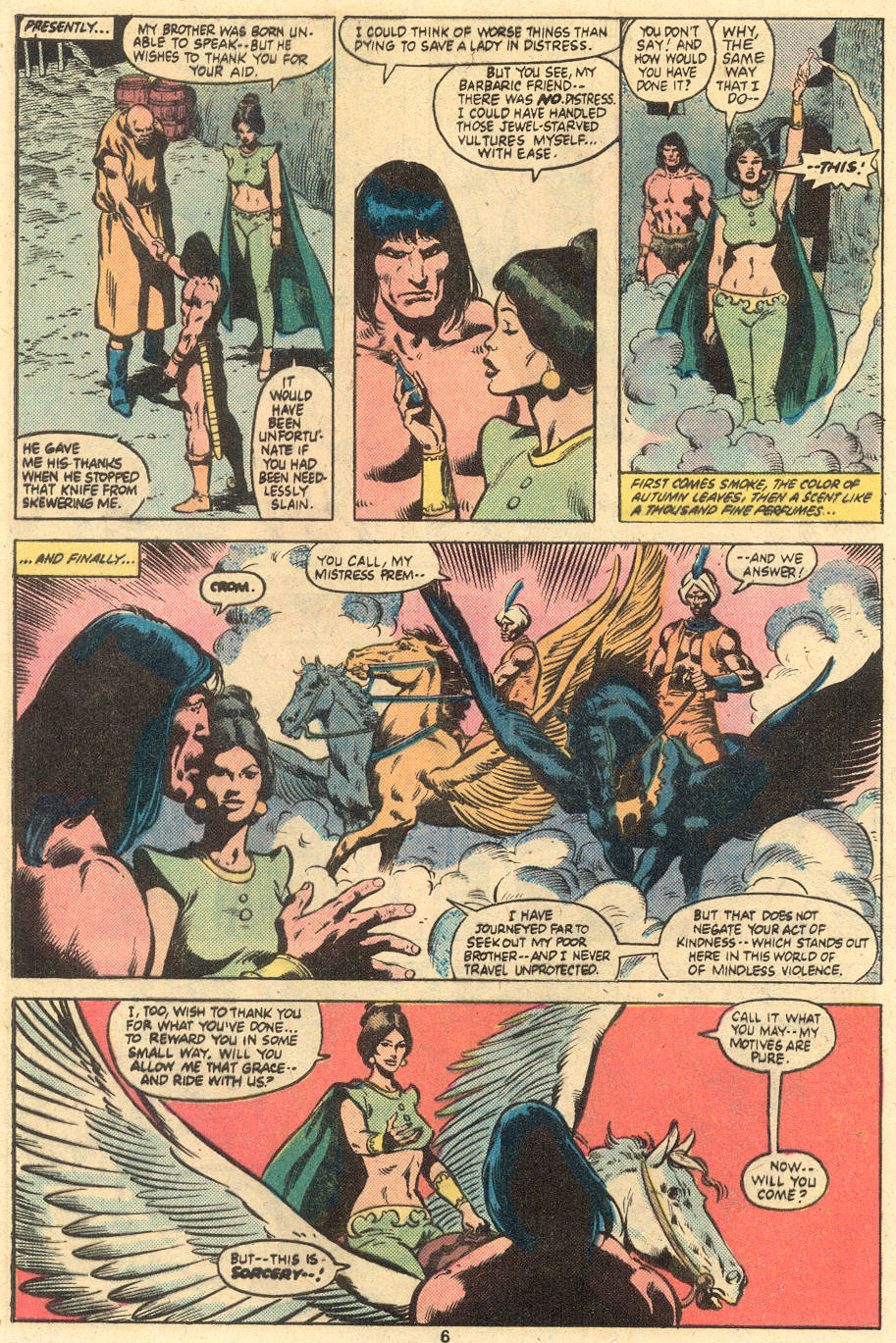 Conan the Barbarian (1970) Issue #121 #133 - English 6