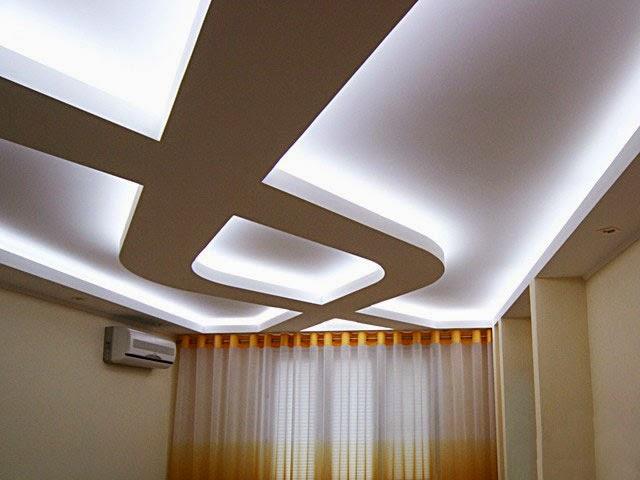 Basic steps to repair ceiling