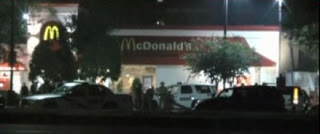 Hernandez participated in the SWAT standoff at a local McDonald's.