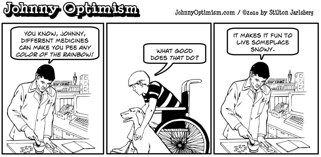 johnnyoptimism, johnny optimism, pharmacist