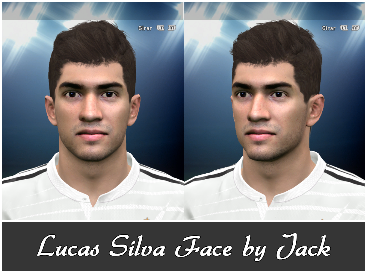 PES 2015 Lucas Silva Face by Jack
