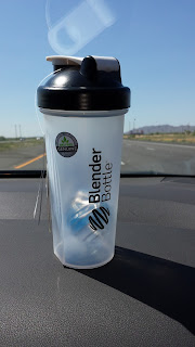 my free protein blender bottle
