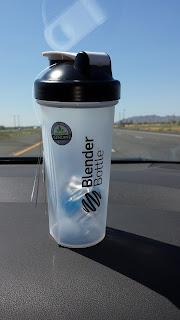 my free protein blender bottle