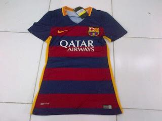gambar jersey terbaru musim depan toko enkosa sport Jersey Ladies Barcelona home Official terbaru musim 2015/2016