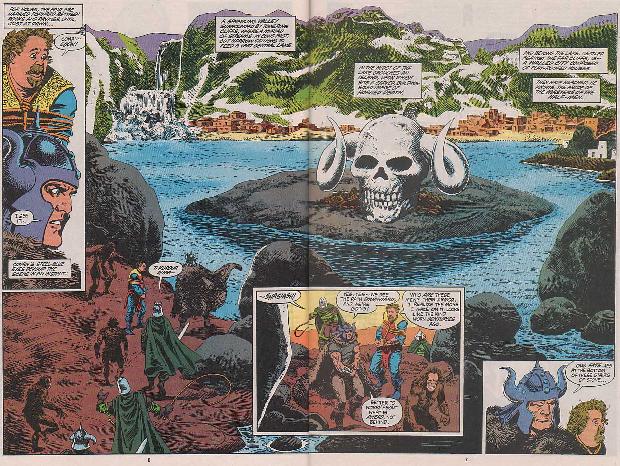 Conan the Barbarian (1970) Issue #263 #275 - English 7
