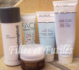Mes favoris du moment : Soins exfoliants / purifiants