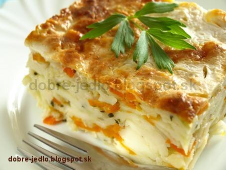 Zapekané zeleninové cestoviny - recepty