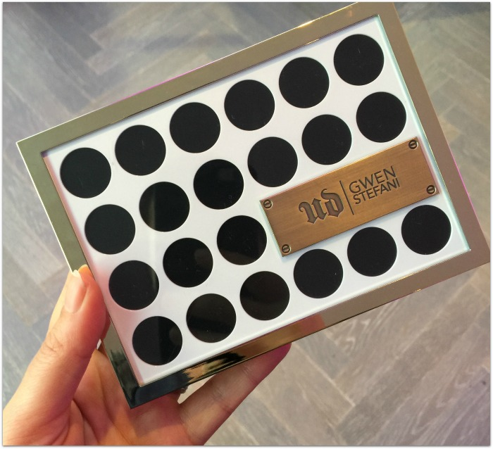 Urban Decay x Gwen Stefani Eyeshadow Palette Review and Swatches
