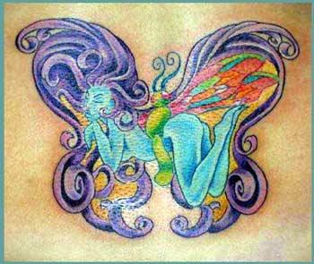 fotos de tattoos de borboleta