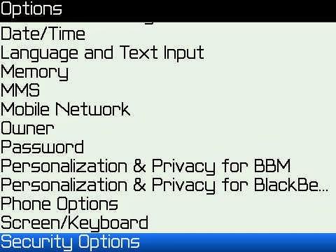 cara agar blackberry tidak lemot