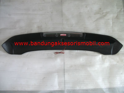 Spoiler Lampu Putih Led Merah ALL NEW AVANZA