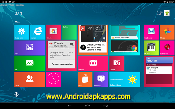 Free Download Metro UI Launcher 10 Pro V1.0.8 Full Patch Apk Terbaru 2015