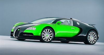 Bugatti on Bugatti Green   Cool Car Wallpapers