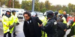 The time Cornell West was arrested in Ferguson