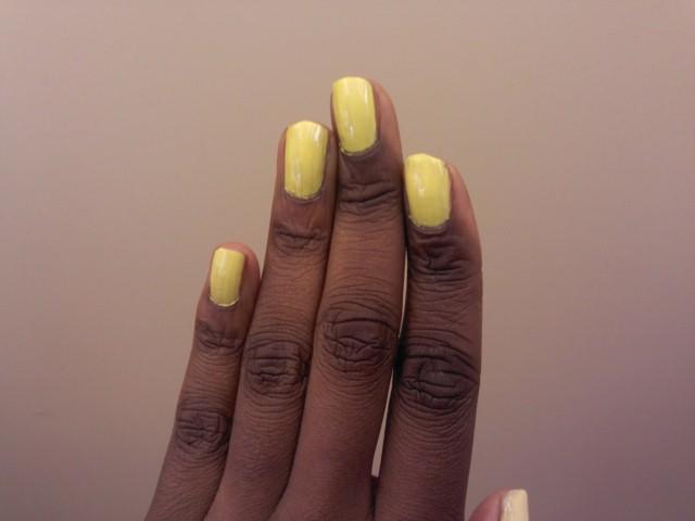 Yellow Nails From Wearing Nail Polish