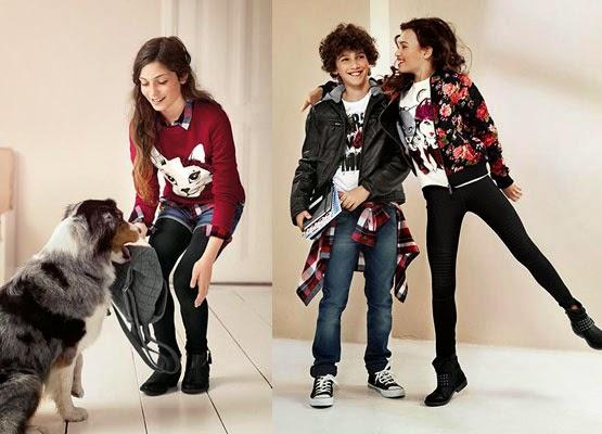 ropa para niños C&A otoño invierno 2014 2015 Vuelta al Cole