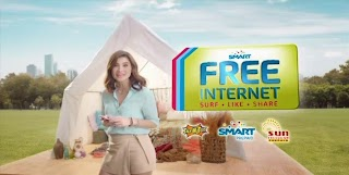 Smart, Sun Cellular and Talk N Text now offer free internet access by texting FREE to 9999