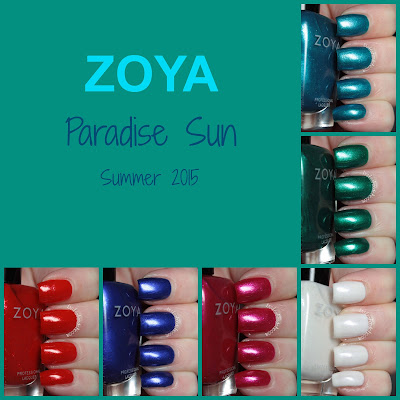 zoya paradise sun collection review swatches