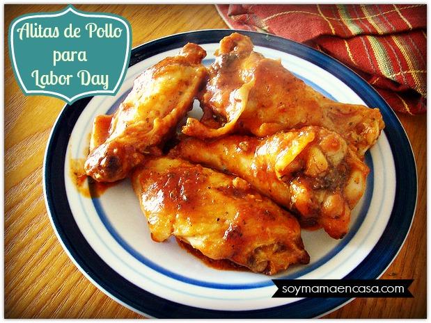 receta facil alitas de pollo