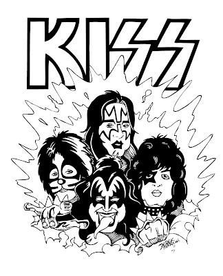 Desenho do Kiss