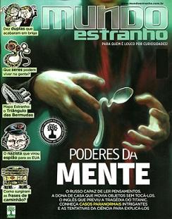 Revista Mundo Estranho Edição 120 Poderes da Mente