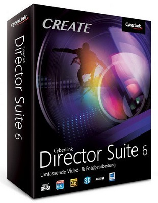 CyberLink Director Suite 6.0 poster box cover