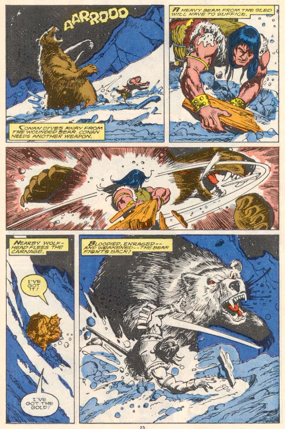 Conan the Barbarian (1970) Issue #220 #232 - English 19