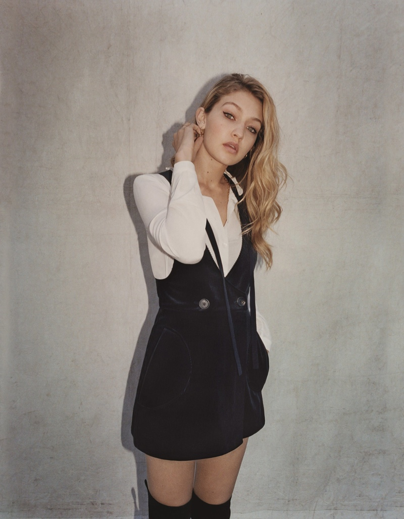 Topshop Fall/Winter 2015 Campaign featuring Gigi Hadid