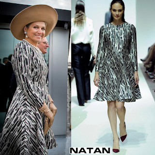 Queen Maxima wore Natan Dress