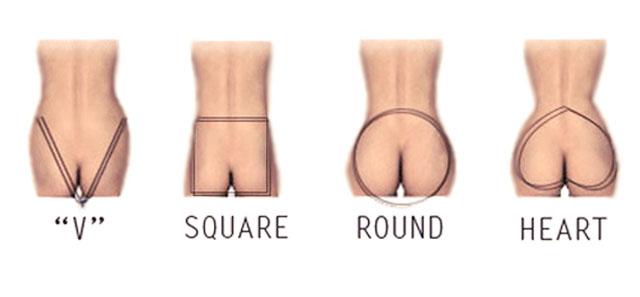 butt types