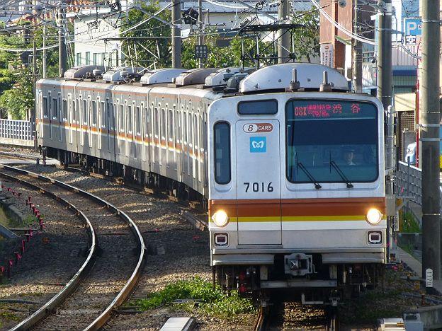 東急東横線 通勤特急 渋谷行き 7000系