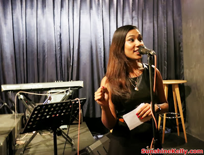 Porcelene Jazz, Empire Damansara Perdana, heritage lane, restaurant, bar, lounge, coffee, the host of porcelene media launch night, kay, the host